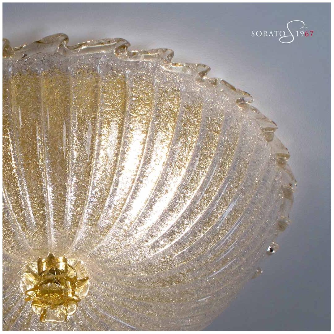 Plafoniere Vetro Murano Prezzi : Plafoniere vetro murano loredan