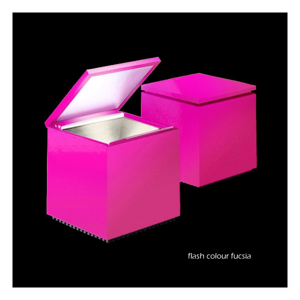 Cinienils Cuboled flash colour fucsia