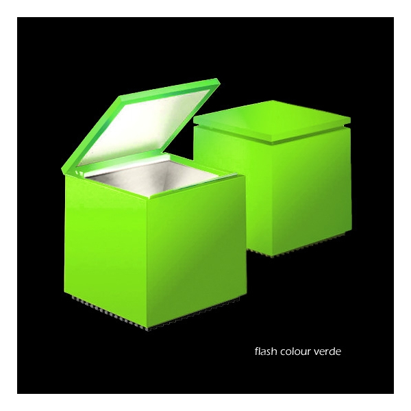 Cinienils Cuboled flash colour verde