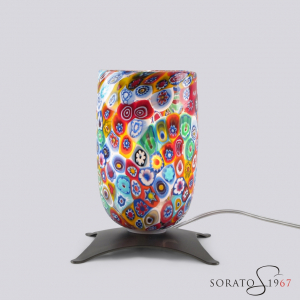 Bugie lampada da tavolo con murrine