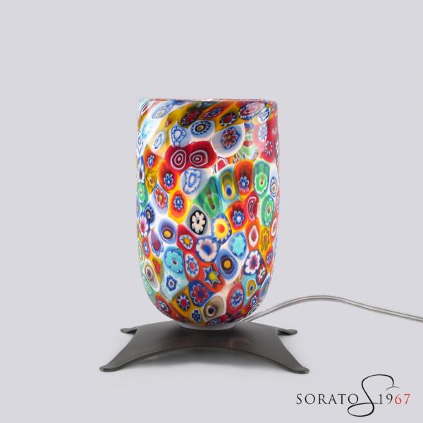 Bugie lampada Murano con murrine