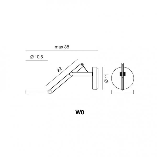 Rotaliana String W0 dimensioni