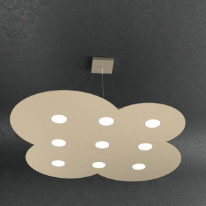 CLOUD 1128 sospensione led lunga