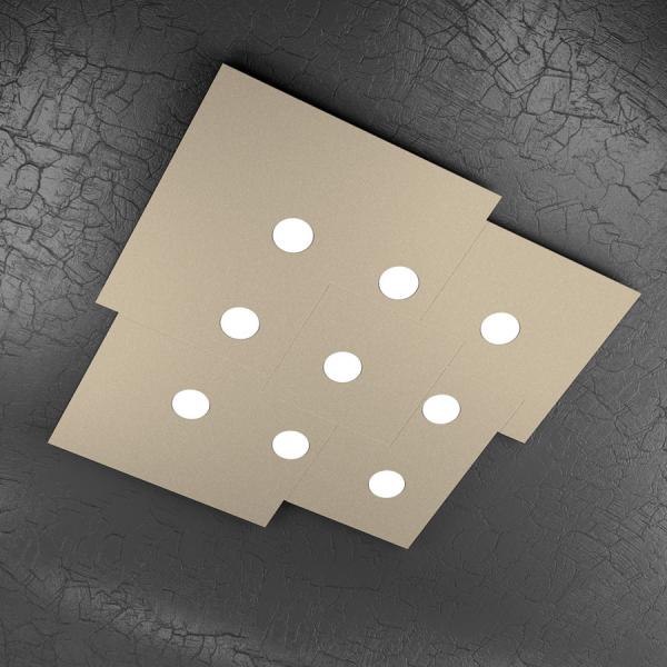 PLATE 1129 plafoniera led quadra