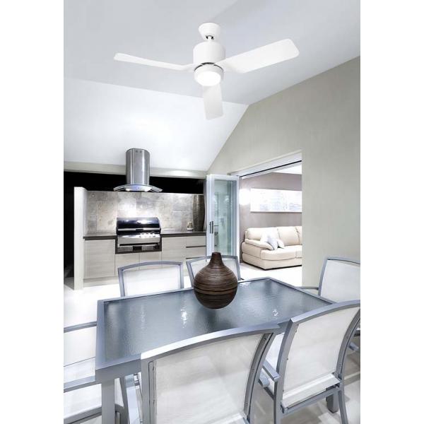 Ventilatore Leds C4 Vera 30-5681-CF-F9
