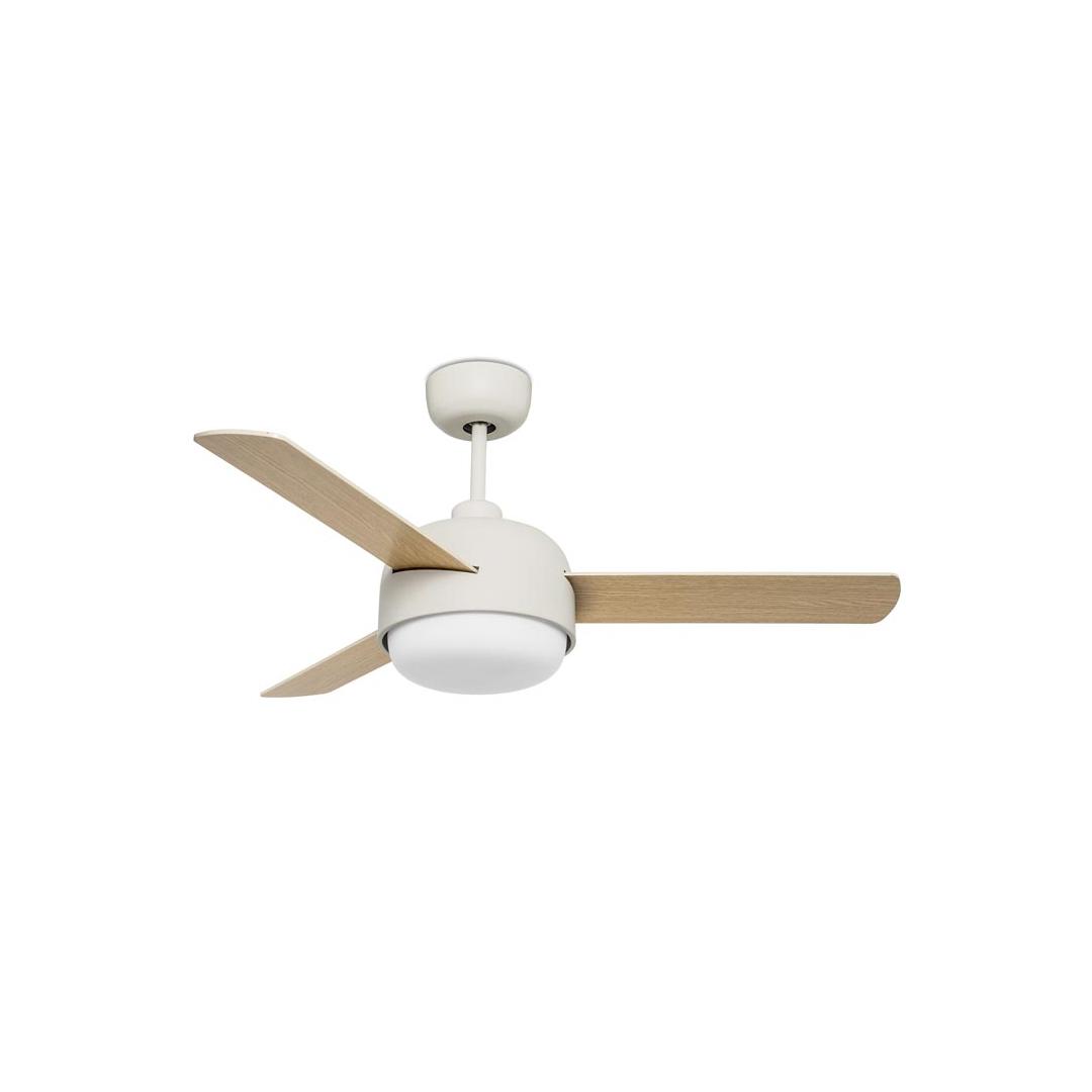 Ventilatore Leds C4 Klar 30-4864-16-F9 LEGNO