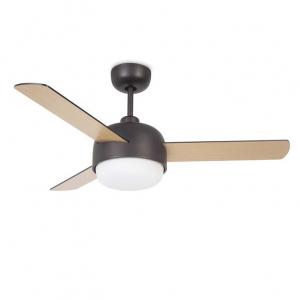 Ventilatore Leds C4 Klar 30-4864-J7-F9 LEGNO