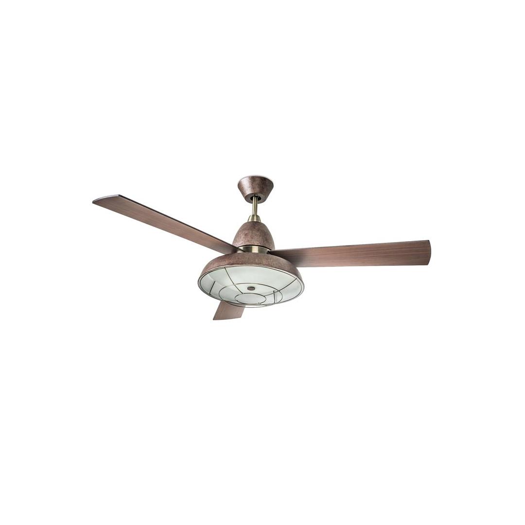 Ventilatore Leds C4 Vintage 30-3248-CG-E9