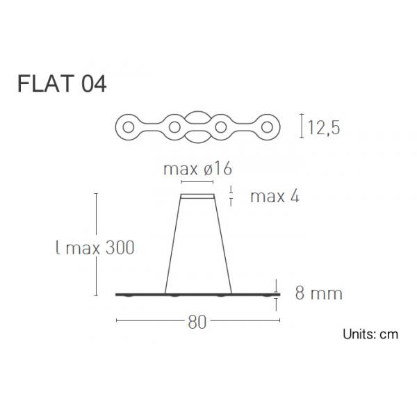 Lumen Center Flat 04 dimensioni