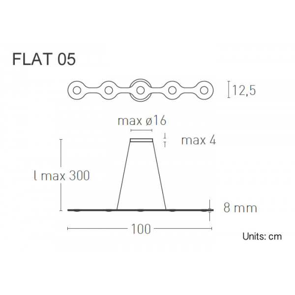 Lumen Center Flat 05 dimensioni