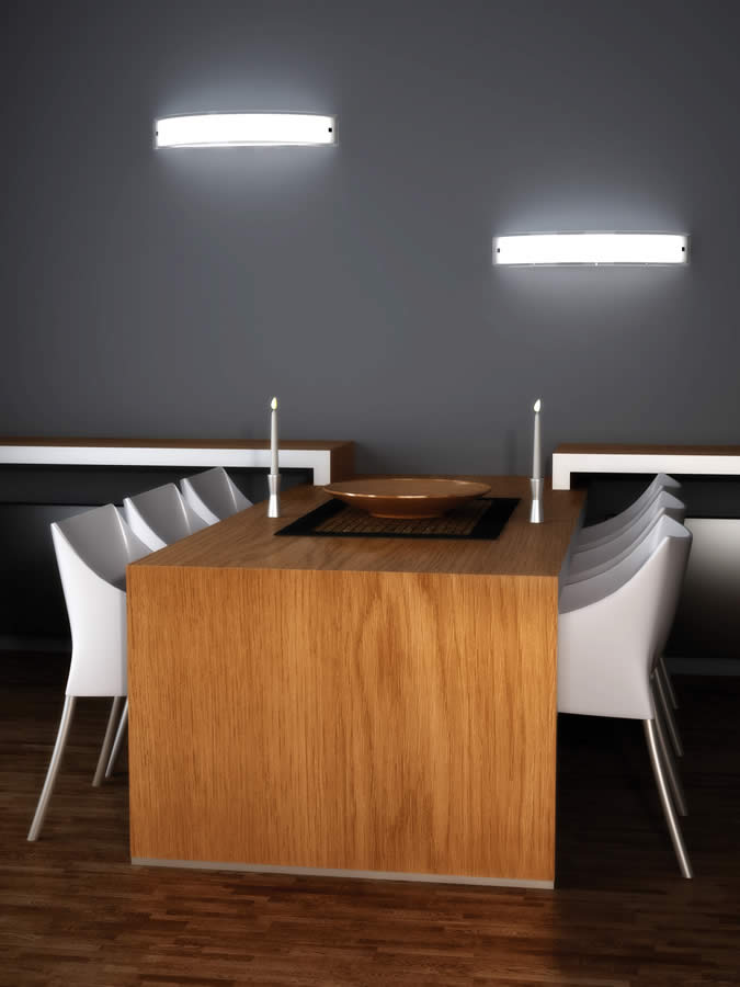 lampade Top Light Linear parete
